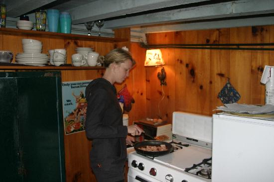 Cochran's Cabins: Cabin cooking
