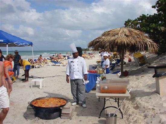 Iberostar Varadero: Pailla sur la plage