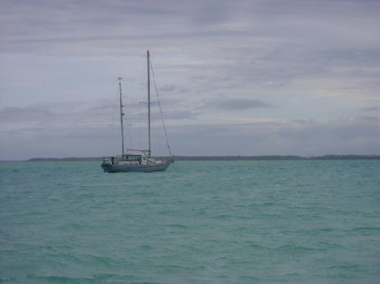 Fanning Island, Republik Kiribati: sailboat