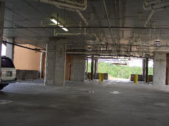 Lake Buena Vista Resort Village & Spa: Our Building's Garage