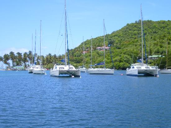 JJ's Paradise Hotel: Marigot Bay