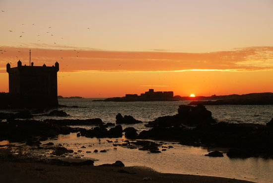 Essaouira, Marrocos: Sunset over the Fishing Port