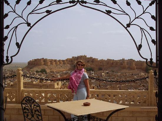 Narayan Niwas Palace : vue de la terrasse panoramique