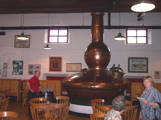 Bushmills Distillery : things to look at while tasteing