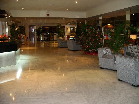Hotel Lucana: this is when you enter the hotel