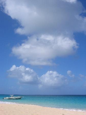 Meads Bay Beach Villas: The beach