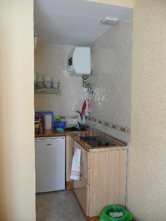 Arcotel Apartamentos : cocina