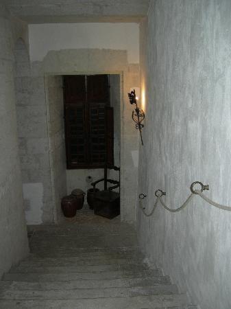 Chateau Puyferrat: escaleras