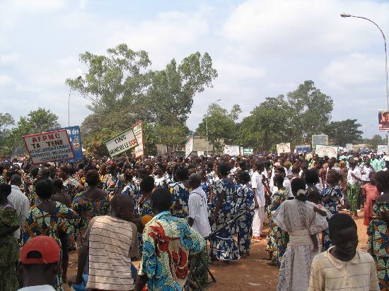 Bangui, Central African Republic: défilé