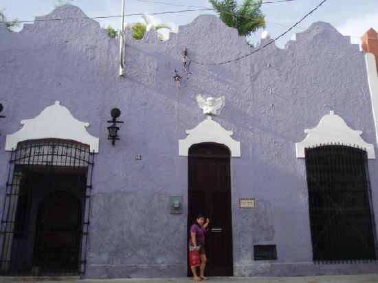Luz En Yucatan: Outside picture of hotel