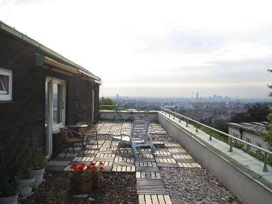 Gartenhotel Glanzing: Rooftop Terrace
