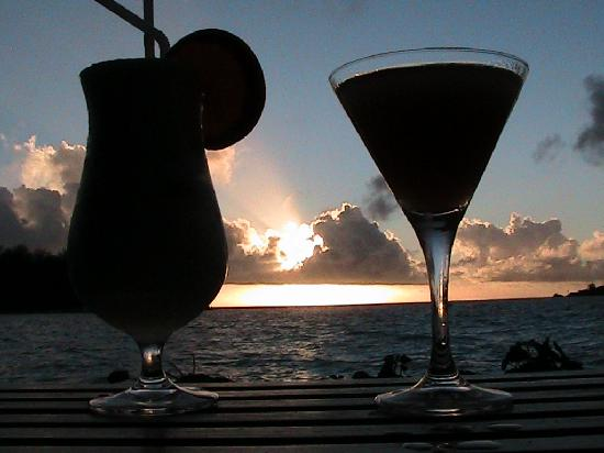 ลิคูลิคูลากูน รีสอร์ท: Amazing sunsets