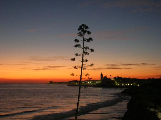 Melia Sitges: Sitges sunset