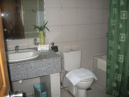 Golden Pine Hotel : Toilet and Bath