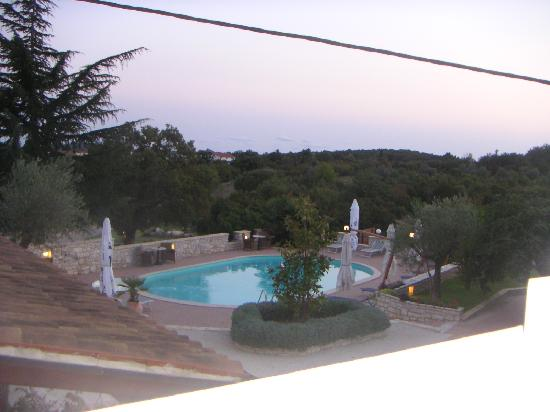 Kanfanar, Croatia: The pool at Dva Baladura