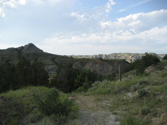 Medora, ND: 2007 was a very green year for the trail!