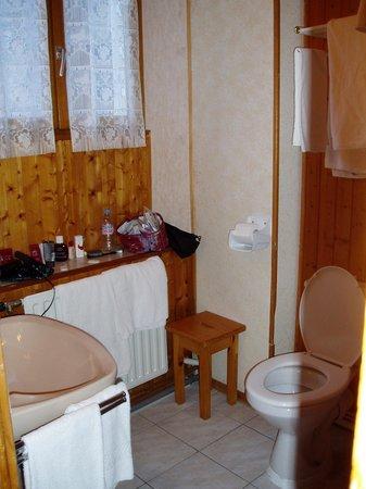 Chalet la Tarine: Bathroom1