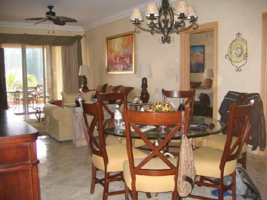 Villa La Estancia: View from the kitchen