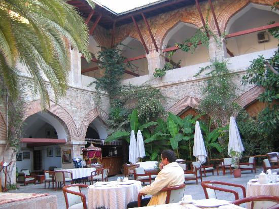 Club Kervansaray Kusadasi: Where breakfast is served
