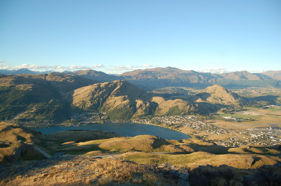 Isla Sur, Nueva Zelanda: Deer Park Heights in Queenstown