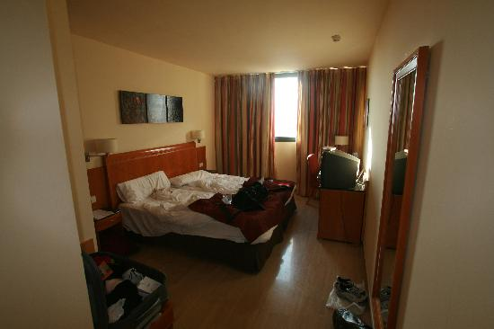 Eurostars Hotel Barbera Parc: My room. Big and clean