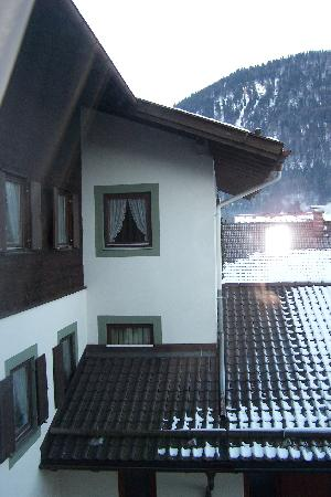 Hotel Forsthaus: View from 2nd floor room