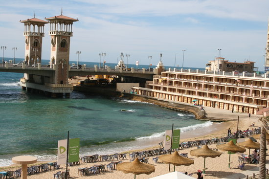 Alexandria, Egypten: Stanley bridge Alec