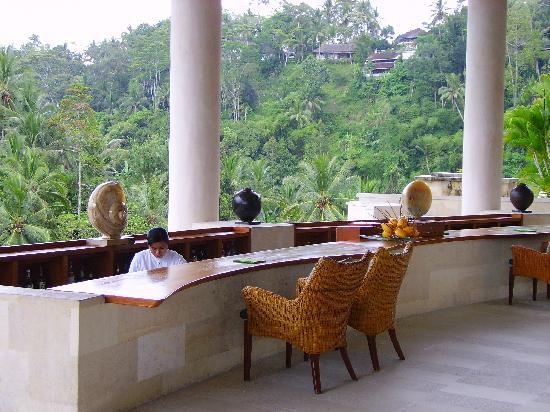 Four Seasons Resort Bali at Sayan : la reception
