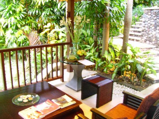 Four Seasons Resort Bali at Sayan : la reception du spa