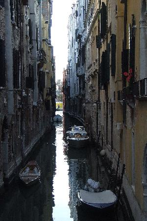 Lido: There are about one million canals in Venice: this is one of them!