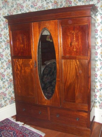 Ann Starrett Mansion Boutique Hotel: The Armoire in the Master's Suite