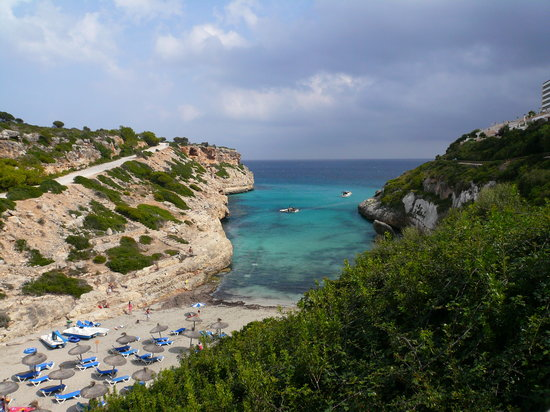 Calas de Mallorca, España: Plage la plus proche de l'hôtel