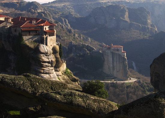 Kalambaka, Greece: View from Megalo Meteora