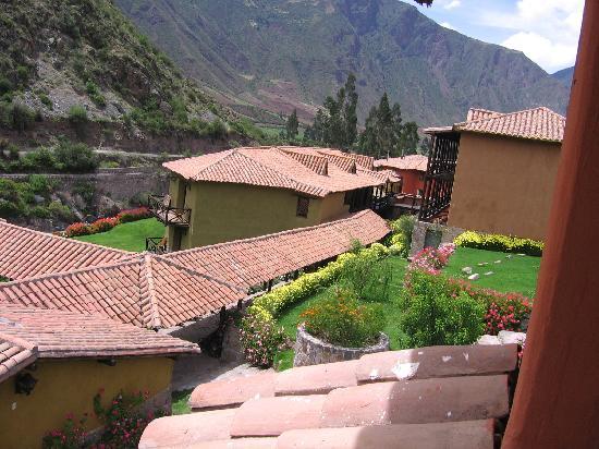 Urubamba Boutique Lodge : vista desde el balcon