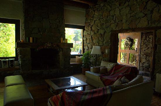 Lares de Chacras: Lounge area