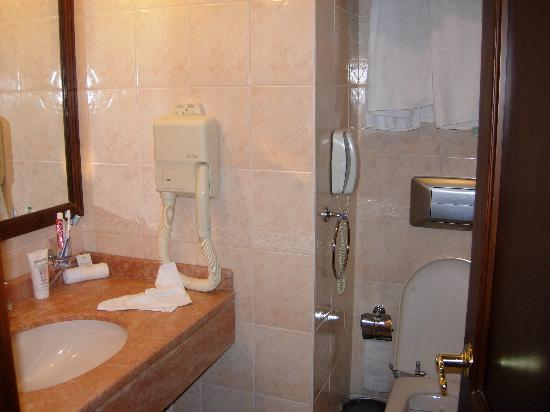 لاريزبارك هوتل تقسيم: Bathroom