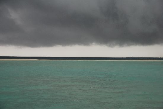 COMO Cocoa Island: oh well ... storms it was