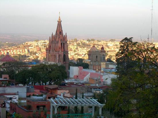 Casa Schuck Boutique Hotel: View from the Luna Room on New Year's Day