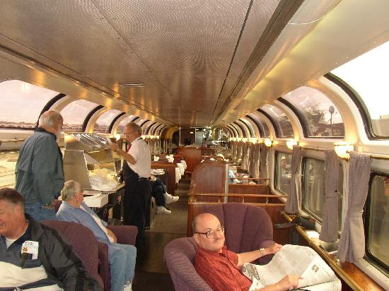 Coast Starlight: Pacific Parlour Car