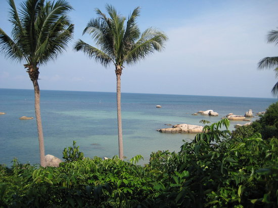 Banyan Tree Bintan: View from our Villa by day