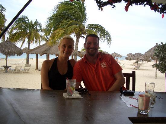 Bucuti & Tara Beach Resort Aruba: At the Bucuti Bar...Happy Hour