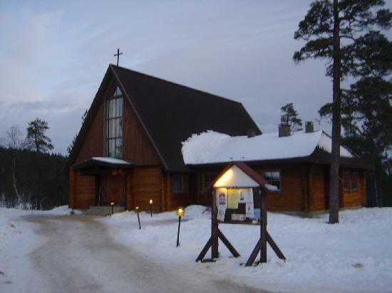 chapel saariselka
