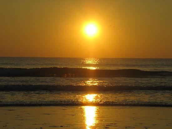 TUI SENSIMAR Playa la Barrosa: Sunset on Plya La Barossa January 2008