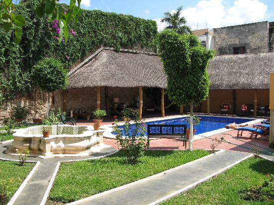 the backyard picture of hotel casa lucia merida tripadvisor