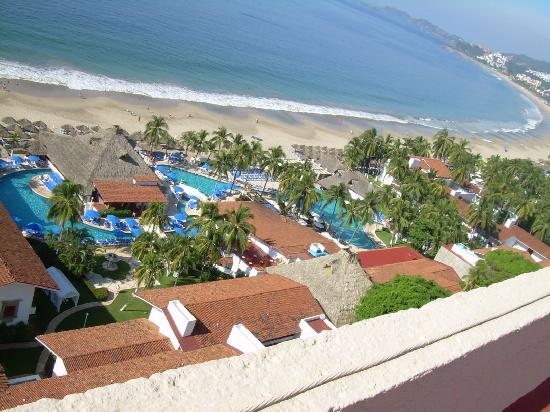 Inter-Continental Presidente Ixtapa : Hotel view from roof-top