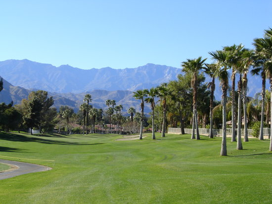 Palm Springs, Californie : golf