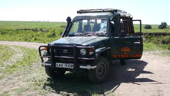 Fig Tree Camp Vehicle used for drives