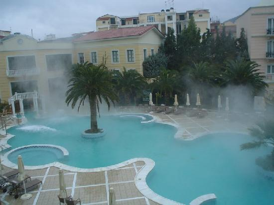 Thermae Sylla Spa Hotel: Outdoor pool-day