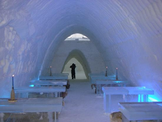 The Restaurant In The Ice Palace Picture Of Lapland