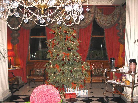 The Chesterfield Mayfair: Chesterfield Lobby Christmas 2007